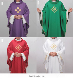 Cathedral Chasubles Set