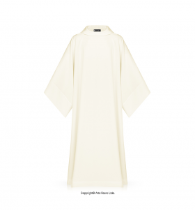 Beige Color Monastic Alb