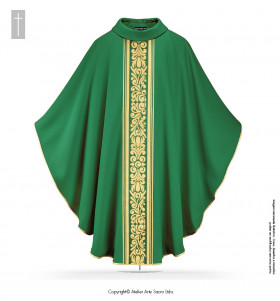 Red Color San Salvador Chasuble