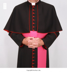 Black Color Episcopal Cassock (2)