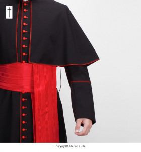 Black Color Cardinal Cassock (1)