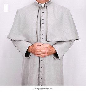 Grey Color Tropical Cassock