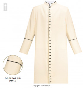 Ivory Tropical Cassock
