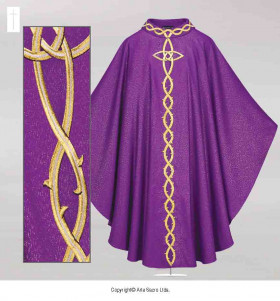 Chasuble CROWN OF THORNS