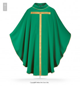 Beige Color Holy Mary Chasuble