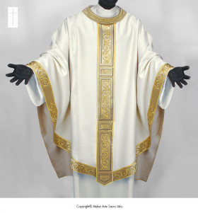 Beige Color San Salvador Chasuble