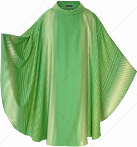 Green Color PA'ORO Chasuble