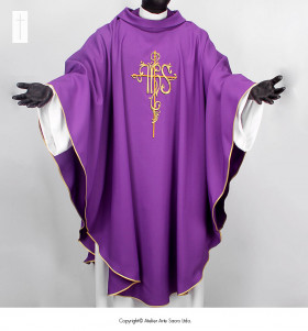 Purple Color Chasuble