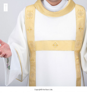 Beige Color Cathedral Dalmatic