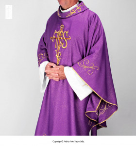Purple Chasuble 741