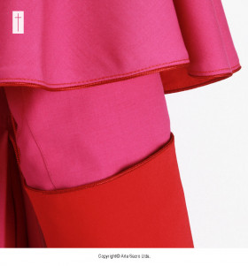 Fuchsia Color Liturgical Cassock (1)