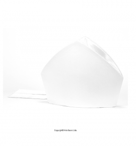 White Color Plain Mitre