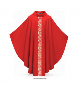 Green Color Ramos Chasuble
