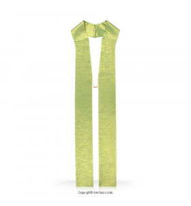 Green Color Plain Stole