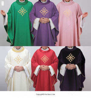 Cathedral 06 Chasubles Set