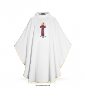 White Color San Francisco Chasuble