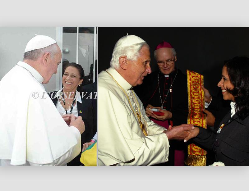 Paramentos do Papa