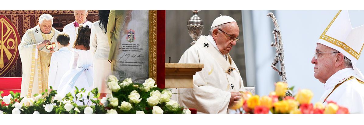 Paramentos Liturgicos do Papa